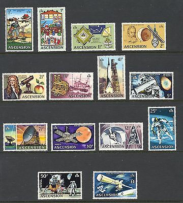 Ascension 1971 SG 135-48 Space   MNH