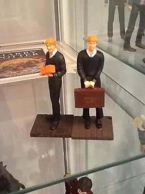 Harry Potter Fred And George Weasley Figures Super Rare Miniatures