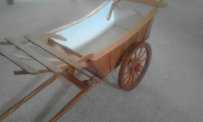 wooden hay wain cart - good condition