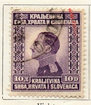 Yugoslavia 1924 Early Issue Fine Used 10d. 129583