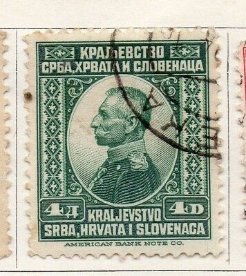Yugoslavia 1921 Early Issue Fine Used 4d. 129618