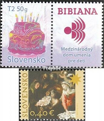 Slovakia 683Zf with zierfeld,694 (complete.issue.) unmounted mint / never hinged