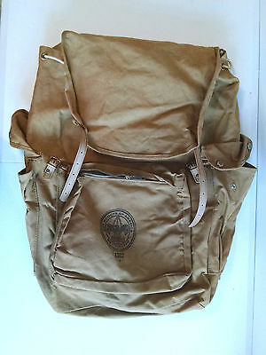 Vintage Bsa Boy Scouts Of America Canvas Back Pack 1307 Cruiser No Frame