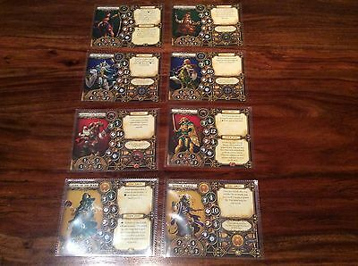 Descent 2nd Edition Character Card Protective Sleeves