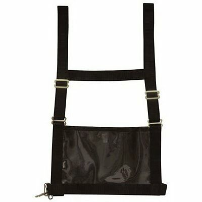 Weaver Leather Exhibitor Number Harness Black Small/Medium