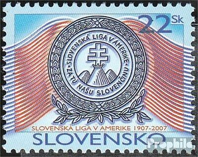 Slovakia 555 (complete.issue.) unmounted mint / never hinged 2007 League