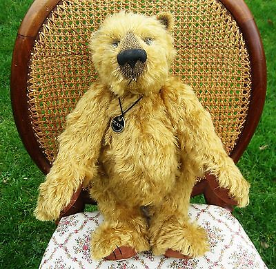 Merrythought teddy bear  Callum designed by Janet Clark .16 inch limited edition