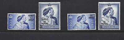 GREAT BRITAIN Post Offices (1948 Silver Wedding 5 different Offices) VF MH