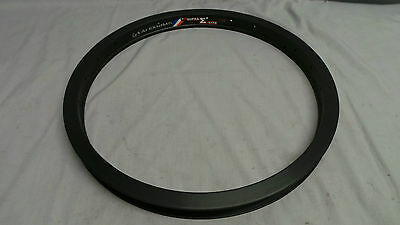 New 48H Black Alex Supra E Lite Bmx Rim - Dirt Jump Street Park Trail Mid School