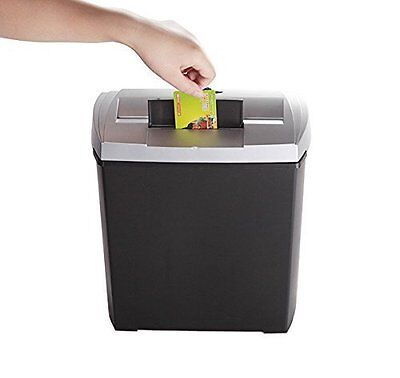 Bonsaii DocShred S170 8-Sheet Strip-Cut CD/Credit Card/Paper Shredder