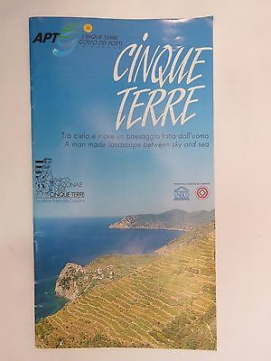 MAP ~ Guide: CINQUE TERRE, ITALY    Parks, Festivals, Gastronomy, Wine, Churches