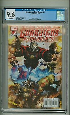 Guardians of the Galaxy #1 (CGC 9.6) White pages; Marvel Comics; 2008 (c#13047)