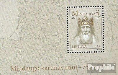 Lithuania block28 (complete.issue.) unmounted mint / never hinged 2003 Mindaugas