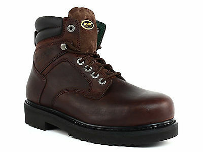 Wolverine W03150 Steel Toe EH Men's Ankle Work and Safety Brown Leather Boots
