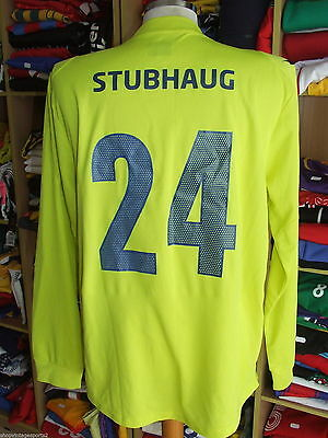 MATCHWORN Shirt Stromsgodset IF 2013 (M)#24 Stubhaug Norway Goalkeeper Maglia