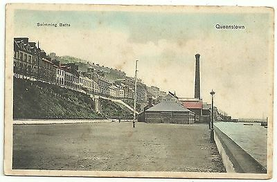 Ireland Co Cork   postcard  Cobh Queenstown Swimming Baths