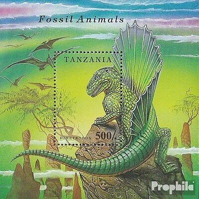 Tanzania block250 (complete.issue.) unmounted mint / never hinged 1994 Prehistor