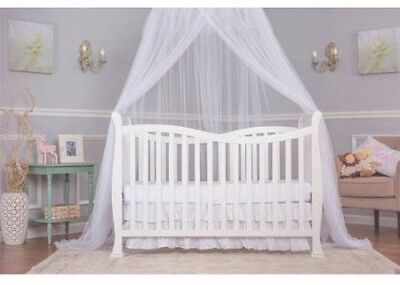 Dream On Me Violet 7-in-1 Convertible Life Style Crib White