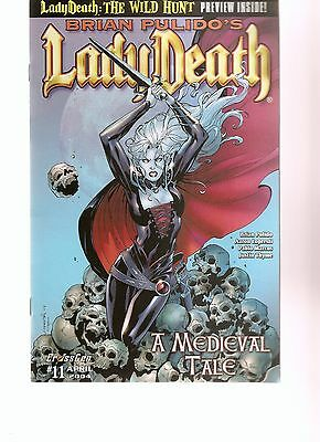 brian pulido's lady death   a medieval tale #11    2004   FREE SHIPPING
