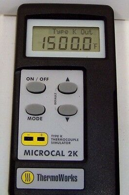 Genuine ThermoWorks THS-271-200 Microcal 2 Type K Simulator
