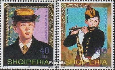 Albania 2951-2952 (complete.issue.) unmounted mint / never hinged 2003 Edouard M