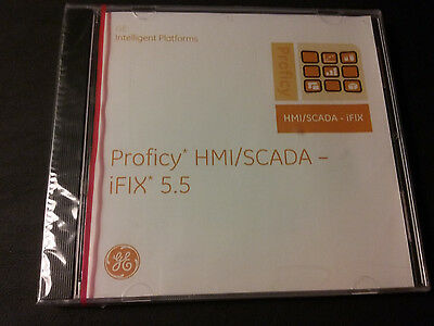 NEW SEALED GE PROFICY HMI/SCADA-iFIX 5.5 SOFTWARE