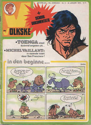 Ons volkske n°4   1976  complet avec point tintin