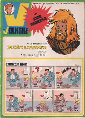 Ons volkske n°6   1975  complet avec point tintin