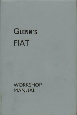 Fiat 500 600 1100 1200 1500 Cabrio& Roadster 1800 2100 2300 '57-64 Repair Manual