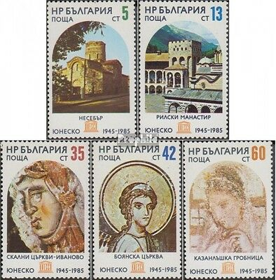 Bulgaria 3394-3398 (complete.issue.) unmounted mint / never hinged 1985 Protecte