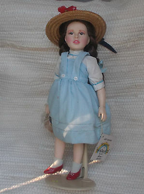 "***vintage Wizard Of Oz (Dorothy) 15"" Doll~Effanbee~Porcelain***"