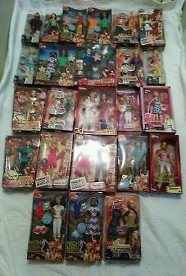 Lot of 24 Hannah Montana dolls in the boxes