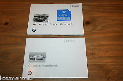 Bmw 3 Series Compact Owners Manual, Handbook, Service Book, E36 1994-2001