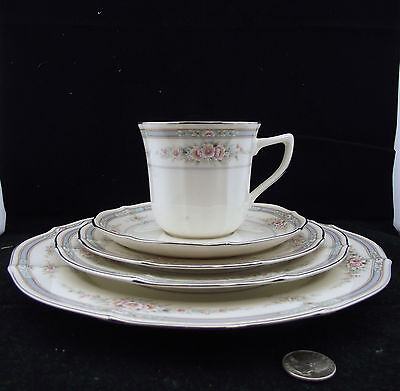 Noritake Rothschild # 7293 Japan 5 Pc Place Setting More Available