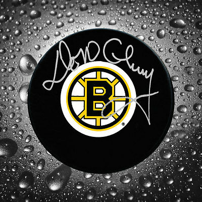 Don Cherry Boston Bruins Autographed Puck