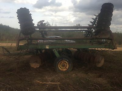 John Deere 230 Disc Harrow/ Field ready