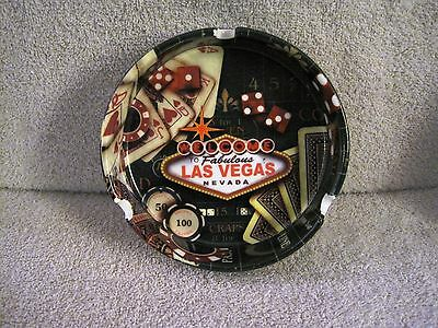 Rare - Beautiful - Welcome To Fabulous Las Vegas - Ashtray - Great Gift Item!!