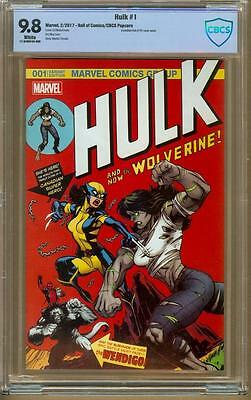 Hulk #1 Hall of Comics/CBCS Deadpool Variant CBCS 9.8 WP Limited to 500 Copies