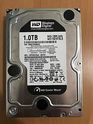 "Western Digital WD Black 1 TB Internal 7200 RPM 3.5"" Hard Drive"
