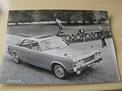 FORD ZODIAC Mk.1V  OFFICIAL FORD PRESS RELEASE PHOTOGRAPH  #ForZo01