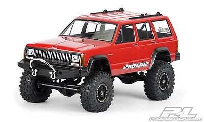 ProLine 1992 Jeep Cherokee Clear Body 3321-00 Scale Crawler Axial