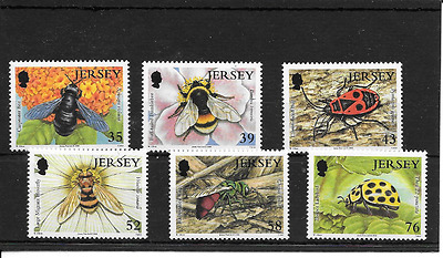 JERSEY 2008 Insects set u/m