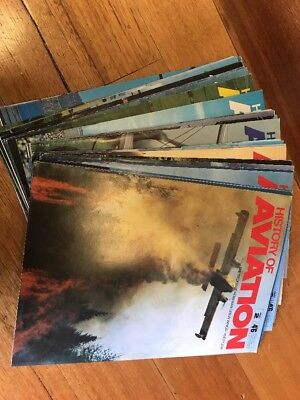 History Of Aviation -- 29 Issues 1970's Vgc