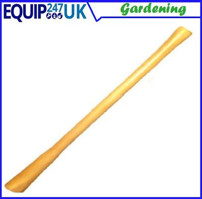Solid Beech Wood Wooden Universal Heavy Duty Long Pick Axe Mattock Handle Shaft