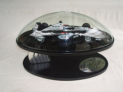 Signed Hakkinen/Coulthard/Ron Dennis 1999 Autosport Awards Table Centre Piece.