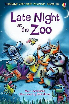 Late Night at the Zoo (Usborne Very First Reading - Book 10) Hardback RRP:£4.99