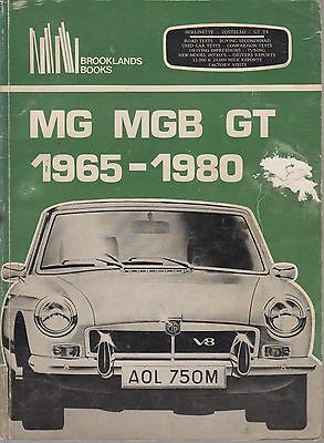 Mg Mgb Gt Coupe ( Incl V8 ) 1965 - 1980 Period Road Tests Book