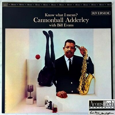CANNONBALL ADDERLEY KNOW WHAT I MEAN 2LP 180g 45rpm ANALOGUE PRODUCTIONS