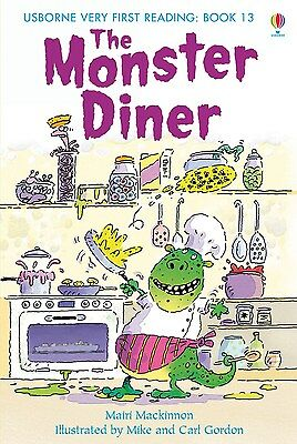 The Monster Diner (Usborne Very First Reading - Book 13) Hardback RRP:£4.99