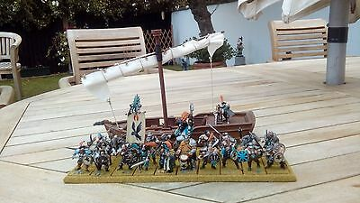Warhammer CHAOS PIRATE WARBAND PROFESSIONAL PAINT Age of Sigmar Mordheim Fantasy